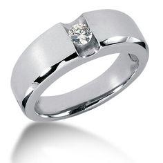 Mens engagement ring