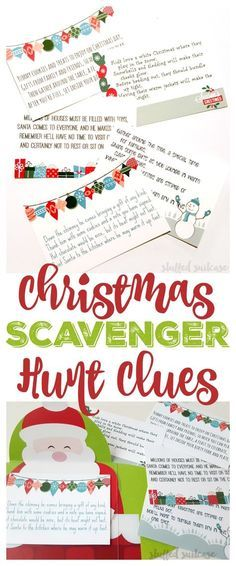christmas morning Heres the ultimate fun for Christmas morning, and a new family Christmas tradition. Place these Christmas Scavenger Hunt Riddles around the home and watch your kids the clues and hunt for their gift! Holiday Games, Christmas Party Games, Holiday Activities, Holiday Fun, Holiday Ideas, Christmas Riddles For Kids, Christmas Activities For Adults, Fun Family Christmas Games, Christmas Trivia