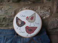 Chicken Fabric Picture