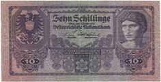 10 Schillinge 1925 (Männerportrait), Österreich Erste Republik