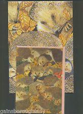 HEDGEHOG CARD & GIFT WRAP -HEDGEHOGS - ANIMAL AWARENESS