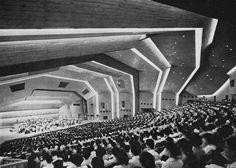 Concert Hall, Takasaki, Japan, 1960s (Antonin Raymond and L.L. Rado)