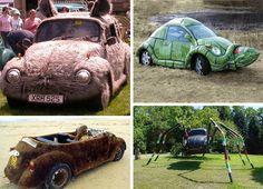 Crazy VW Bug mods