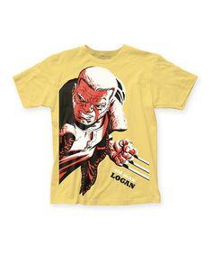 Yellow X-Men Old Man Logan Tee - Men's Regular