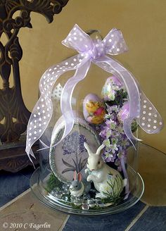 Easter Cloche---just gorgeous, prettiest one i've seen!!!
