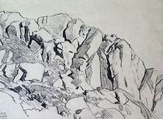 Resultado de imagen de how to draw rocks and cliffs