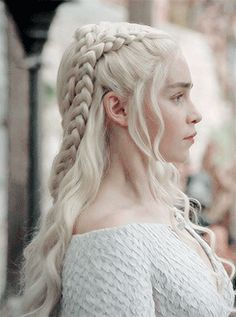 A Compilation of Game of Thrones References — stormbornvalkyrie: Daenerys + Braids