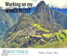 How do you work on your wanderlust? By planning new adventures? Reading books? Following travel blogs? #wanderlusting #wannatravel #seeitall #experiencetheworld #whatawonderfulworld #getoutthere #doallthethings