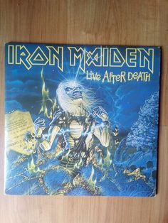 Iron Maiden,Live After Death,SOUTH AFRICA PRESS,VG++,#ironmaiden #BritishMetalNWOBHM