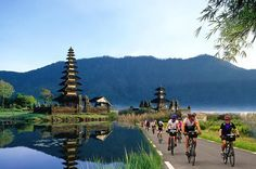 Full-Day Bali Sightseeing Tour with Bike Ride Discover the quiet countryside and hidden gems of Bali on this full day sightseeing tour with bike ride. You will visit rice terraces, a coffee plantation and then head to Kintamani to see Mount Batur. Enjoy an easy 20 mile bike ride past temples and local villages. Enjoy breakfast and a local Balinese Buffet lunch on your tour.You will be picked up from your hotel at 8am by an air-conditioned mini-van and your driver/guide.Firstl...