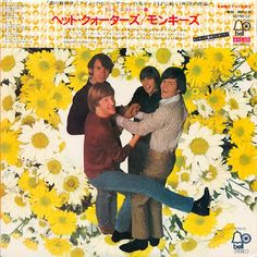 A Japanese Monkees album cover
