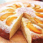 Peach Cake. I hope I remember this recipe when the peaches come in season.