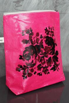 Lisa Stickley Make-Up Bag - Hot Pink