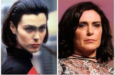 Michelle Forbes, Star Trek Characters, Deep Space, Nerd Geek, Sci Fi, Halloween Face Makeup, Actors, Women, Posters