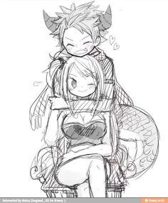 Fairy Tail | Natsu Dragneel & Lucy Heartfilia