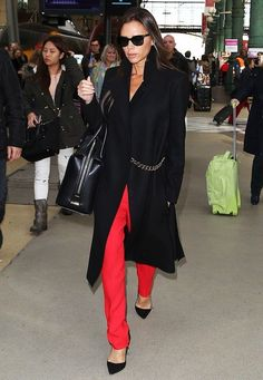 The Top 7 Most Influential Celebrity Power Dressers - Celebrity Street Style