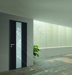 Porte Blindée Pavillonnaire Vitrée Modèle Eclat Pour Concilier - Porte placard coulissante avec portes blindées fichet