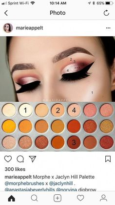 how to do eyeshadow - Eyeshadow Tutorial Makeup Eye Looks, Eye Makeup Steps, Smokey Eye Makeup, Love Makeup, Makeup Inspo, Makeup Ideas, Makeup Dupes, Eyeshadow Makeup, Hair Makeup