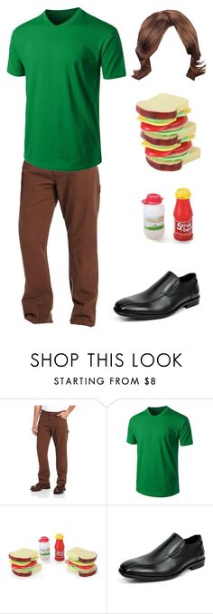 """""""Shaggy Halloween Costume"""" by itsafabulouslife ❤ liked on Polyvore featuring men's fashion and menswear"""