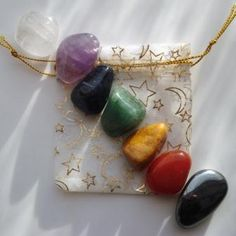 Chakra Balancing Gemstones are available for $2 each or the kit for $12!  facebook.com/love.light.lobethal