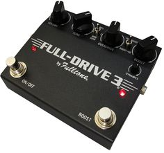 The Full-Drive 2 has been a huge success over the years…with 150,000 sold over the last 20 years. It's still on many Pro's pedalboards... it's not going anywhere! But over the years many people have a