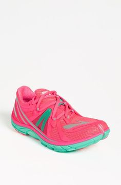 Pink + Mint running shoes. Yes.