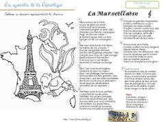 Les symboles de la République - la classe de stefany French Class, French Lessons, Teaching French, Emc Cycle 3, Foto Paris, Le Moral, French Quotes, Reading Lessons, French Nails