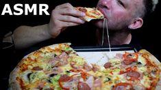 Giant Pizza, Autonomous Sensory Meridian Response, Pizza Day, Asmr Video, Hawaiian Pizza, Bacon, Cheese, Watch, Youtube