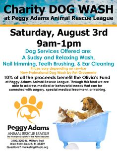 Event Calendar - Peggy Adams Animal Rescue League of the Palm Beaches August 3rd---BIG EVENT  KEEP SHARING