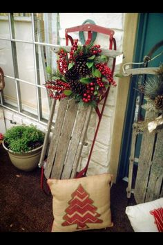 Neat idea to put one on a sleigh
