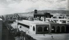 Mercado de Ciudad Jardín, hoy ya desaparecido (1940)