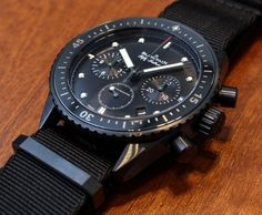 Blancpain Fifty Fathoms Bathyscaphe Flyback Chronograph Watch Hands-On: