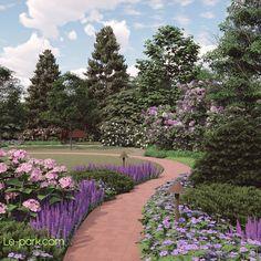 Создание сада в КП Эскваер Парк. После завершения работ по проектированию, мы приступили к инженерной подготовке территории, прокладки…