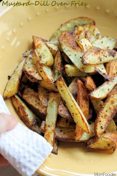 * mustard dill oven fries -minimal flavor. Good to pour over pan fries though.