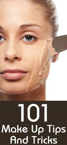 101 Make Up Tips And Tricks