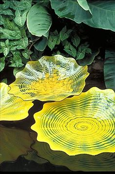 Dale Chihuly. Always amazing.    Persian Pond (2001-02), Garfield Park Conservatory, Chicago.