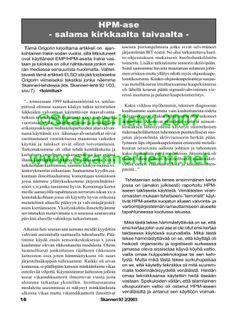 ©Skannerilehti 2007 www.skannerilehti.net