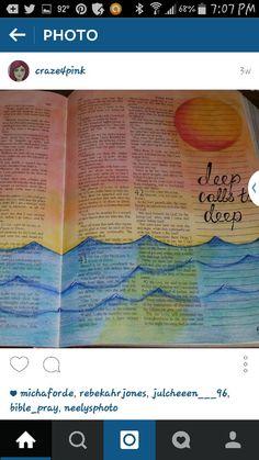 Psalm 42:7 deep calls to deep