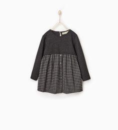 Afbeelding 1 van Gecombineerde jurk van Zara
