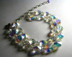 antique crystal necklace