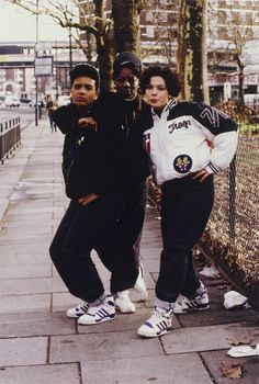 She Rockers (London Rap/Dance Crew), Shepherd's Bush Green, London, 1988
