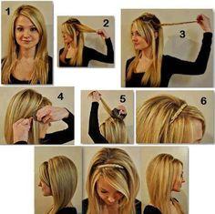 Este peinado es de los que más me gustan... por lo sencillo que és y lo bonito que queda...¿ Te lo has echo alguna vez? aquí puedes ver el paso a paso!!  www.blogdebelleza.es  #look #peinado