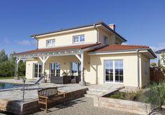 dieses und viele huser mehr gibt es auf fertighausde ihr hausbau aus einer - Fantastisch Haus Bauen Ideen Mediterran