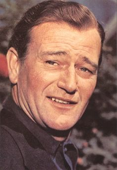 "John Wayne  ""Sure i wave the American flag. Do you know a better one?"""