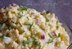 Lilahagymás tojáskrém