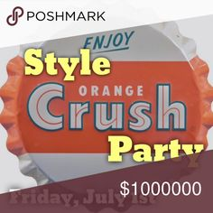 Huge Thanks! Join me along with my fabulous co-hosts - kaybarlatier, iamstephcee, beautifulbutton, and kristen10184 - for our Style Crush Party. Thank you for all of the amazing closet suggestions. I've had a blast looking through some amazing listings!  I'm still looking for host picks :) Other