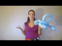 I love this balloon dolphin tutorial.