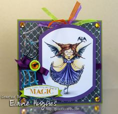 Every Little Thing She Does is Magic by Quixotic - Cards and Paper Crafts at Splitcoaststampers
