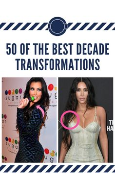 The trend sweeping social media is the decade challenge. Starting on Twitter, people have been posting their before and after pictures from 2009 to 2019, and the results are priceless. From celebrities growing up in front of us, to every day people bettering themselves over the course of 10 years. Here are 50 of the best ones posted so far. 50 #of #the #best #decade #transformations