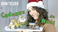 Cadeaux de Noël Vegans et Crus